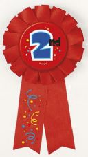 2nd Award Ribbon